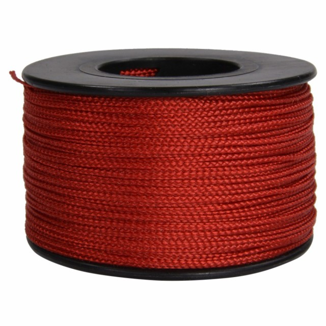 ATWOOD ROPE ナノコード 0.75mm レッド[ns03red]