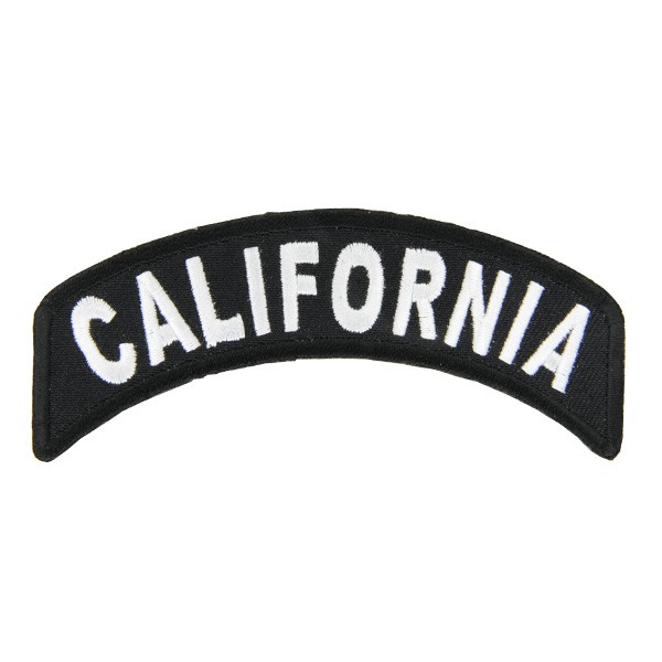 ミリタリーパッチ カリフォルニア アイロンシート...