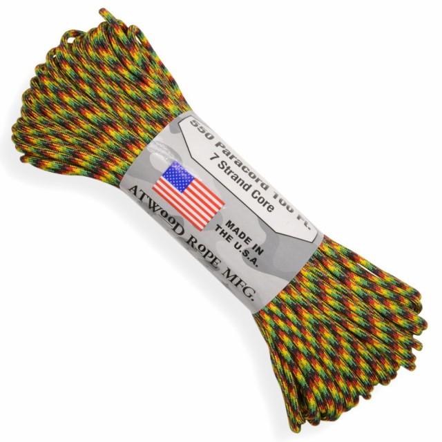 ATWOOD ROPE 550パラコード タイプ3 ジャマイカン...