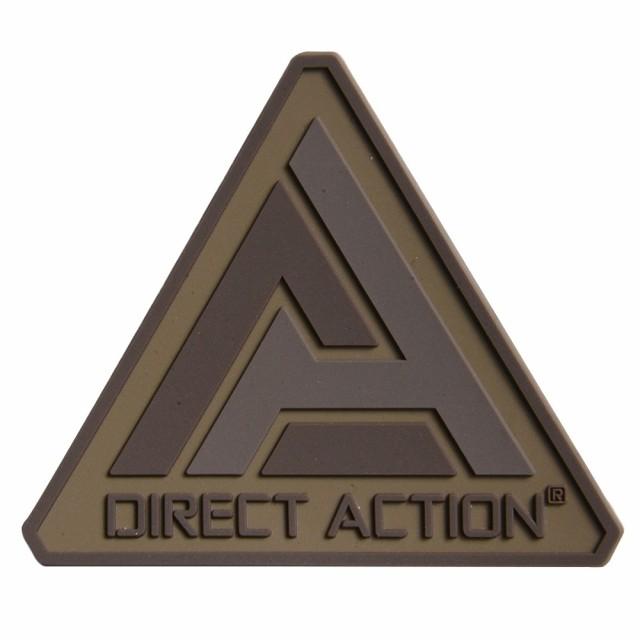 Direct Action ミリタリーワッペン Logoマーク PV...