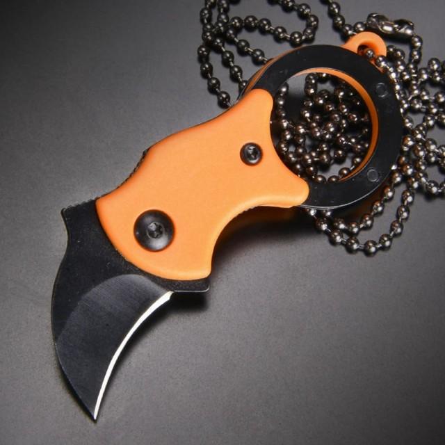 折りたたみナイフ ライナーロック式 カランビット...