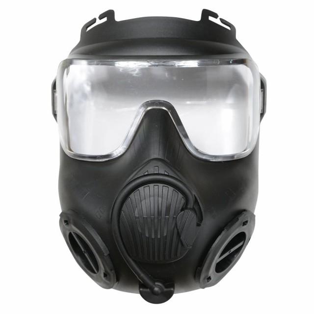 フルフェイスガード 米軍 M50ガスマスク型 ヘルメ...