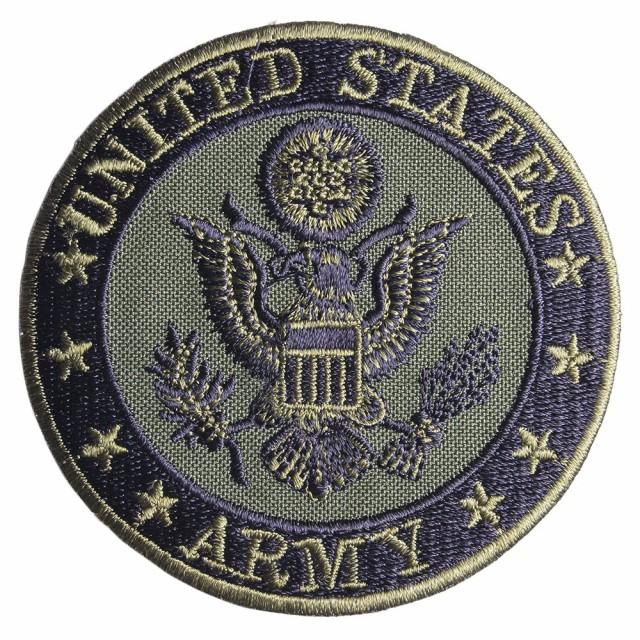 ミリタリーワッペン アメリカ陸軍 ARMY 紋章 アイ...