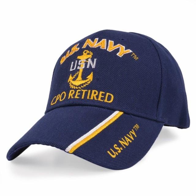 U.S.Navy キャップ チーフペティーオフィサー 刺...