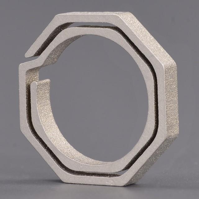 キーリング 八角形 チタン クイックドロー[rev050...