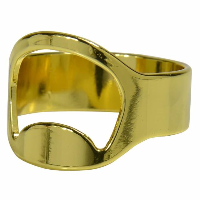 指輪型 ボトルオープナー 25号 [ ゴールド ][rev1...
