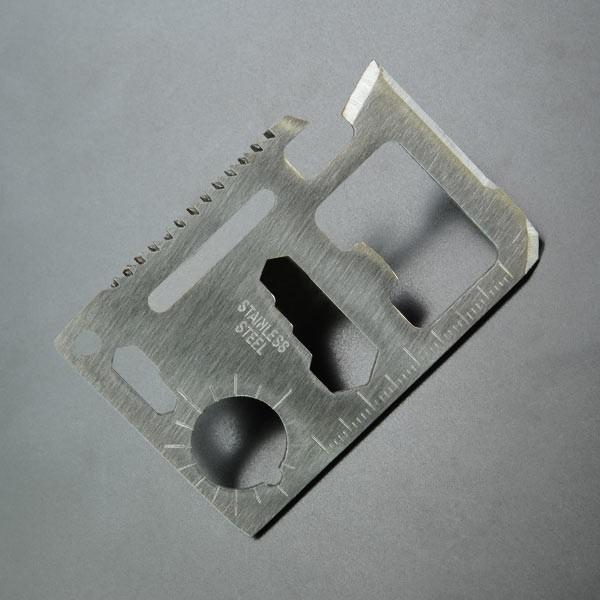 マルチツール カードツールナイフ ステンレス [ ...