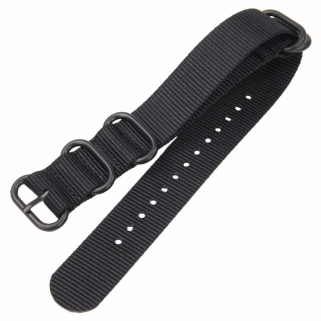 腕時計用 NATO式ベルト ナイロン製 交換ストラッ...