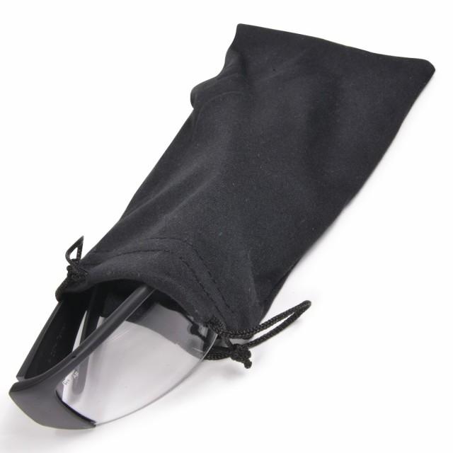 サングラスポーチ 巾着袋 マイクロバッグ 黒[rev4...