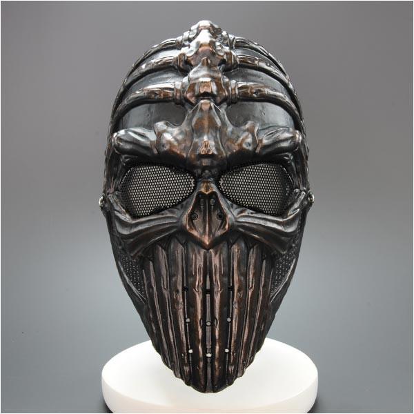 フェイスマスク スカル フリーサイズ [ ブラック...