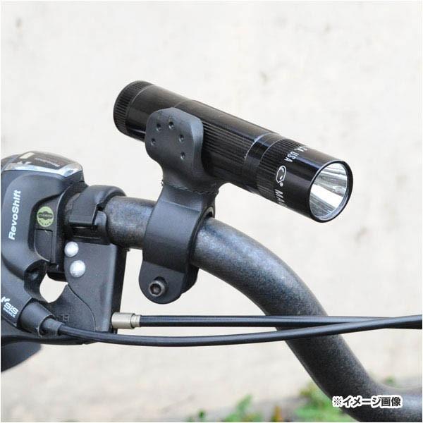 ライトホルダー 自転車用 360度回転[rev50602]