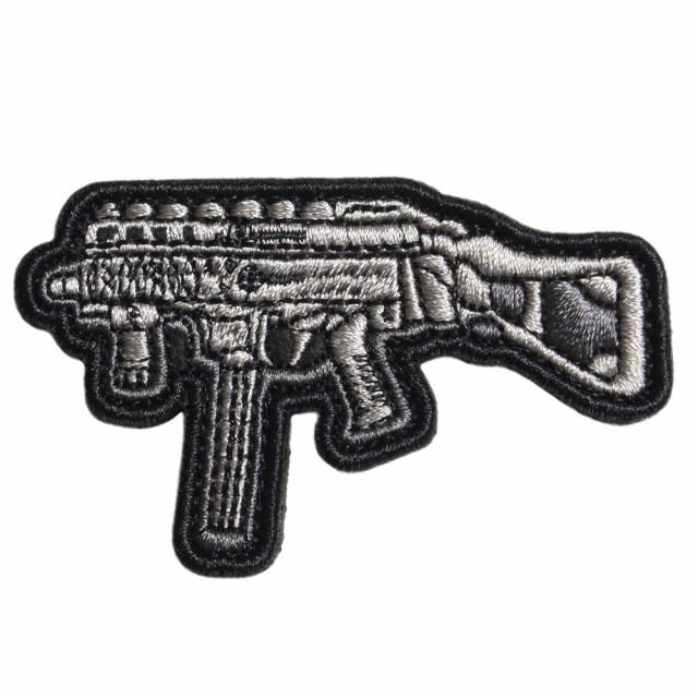 ミリタリーワッペン B&T APC9 サブマシンガン 刺...