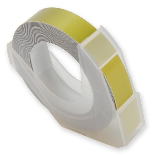 マシューズテープ ダイモ用 9mm幅x3m [ ゴールド ...