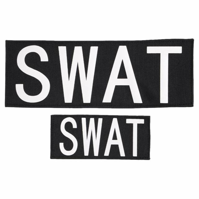 Rothco ミリタリーワッペン SWAT 大小2枚[ro1911]...
