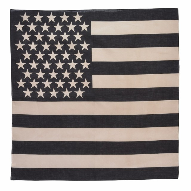 ROTHCO バンダナ アメリカ 星条旗 [ ブラック&カ...