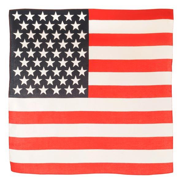 ROTHCO バンダナ アメリカ 星条旗 [ レッド&ホワ...