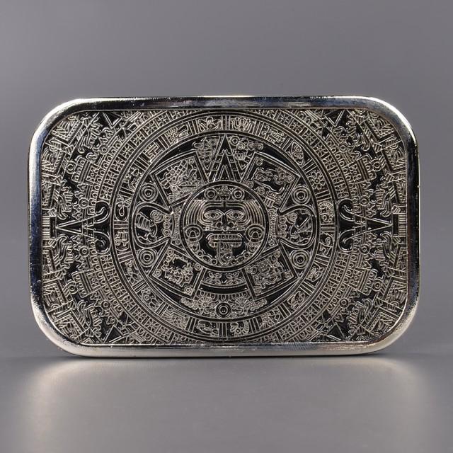 ベルトバックル 太陽の石 Aztec Mayan 1319[tbw13...