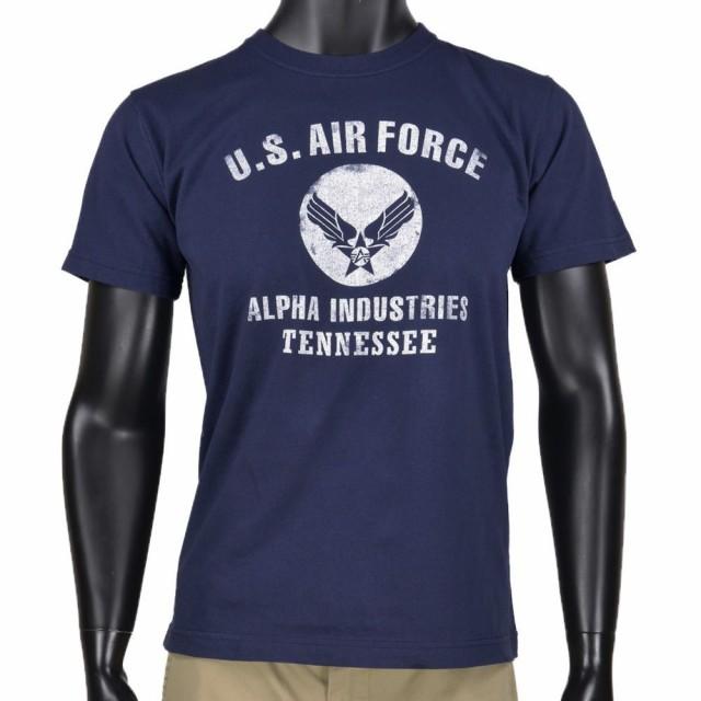 [大感謝価格]ALPHA 半袖Tシャツ エアフォース TC1...