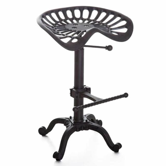 椅子 バーチェア 鋳物 インダストリアルスタイル ...