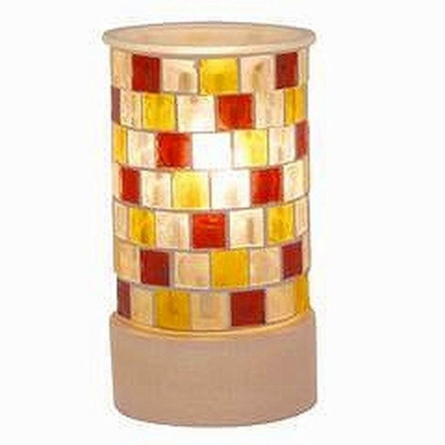 アロマランプ テーブルライト モザイクガラス ki-...