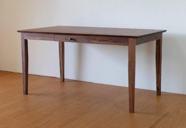 テーブル 幅140cm ミディアムブラウン ZEPH DININ...