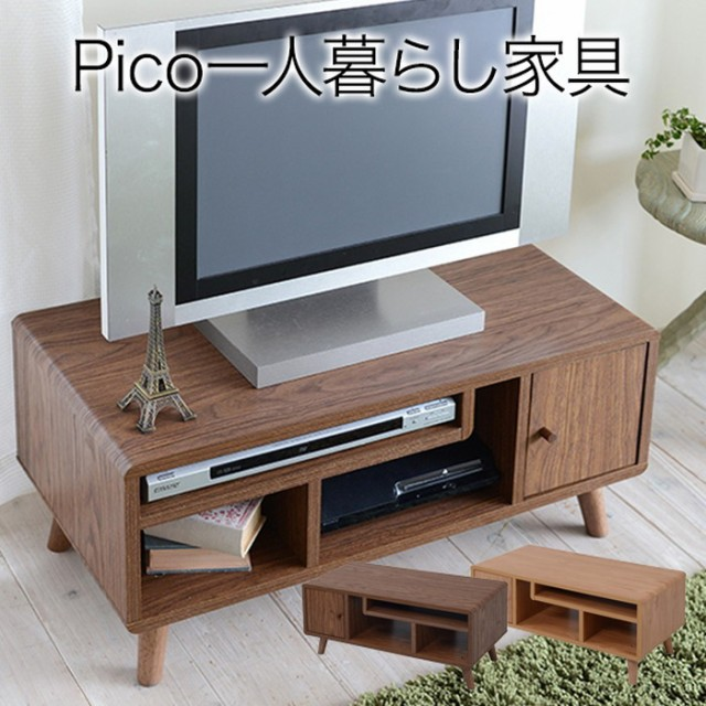 pico series tv rack w800 ブラウン jk-fap-0004-...