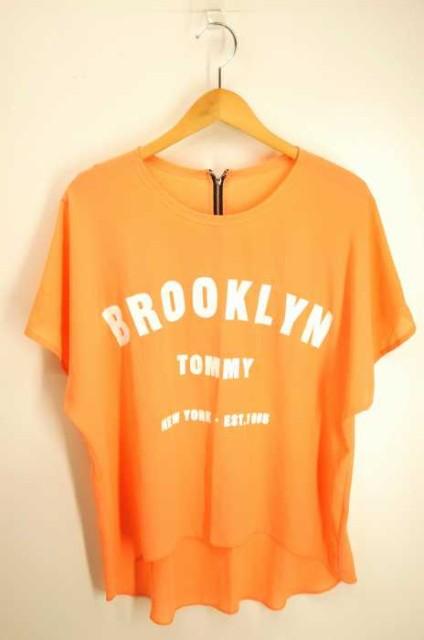 トミー TOMMY クルーネックTシャツ サイズ表記無 ...