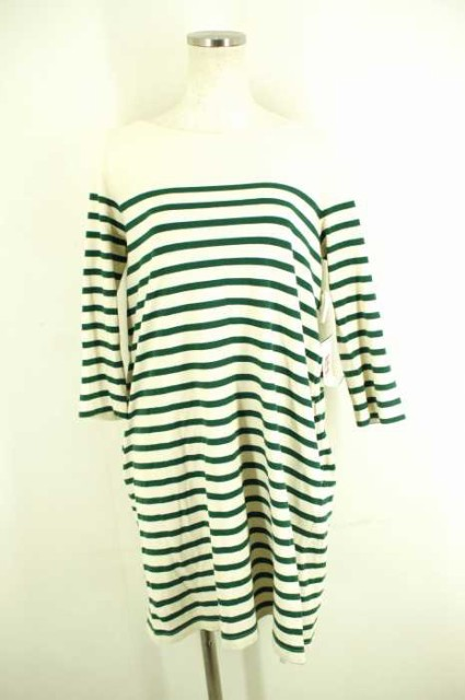 MUJI(無印良品) バスクシャツ オフホワイト サイ...