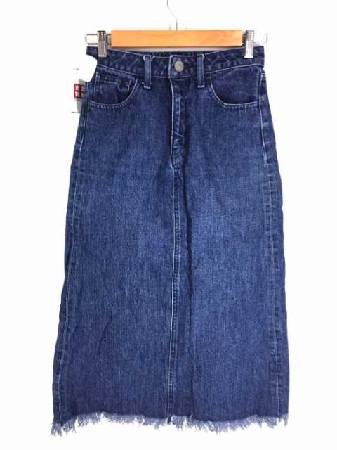 マウジー moussy デニムスカート サイズJPN:2 レ...