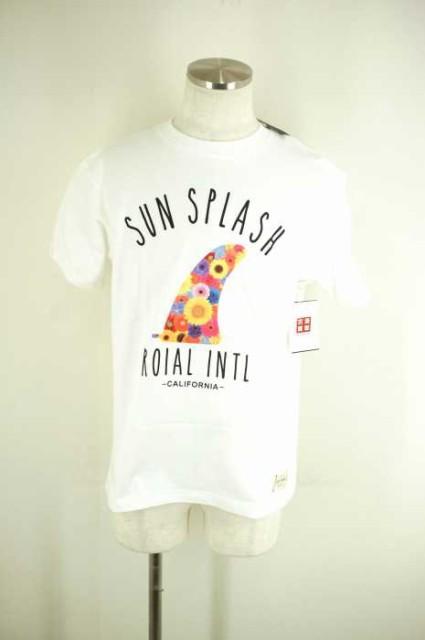roial(ロイアル) フラワープリントTシャツ サイズ...