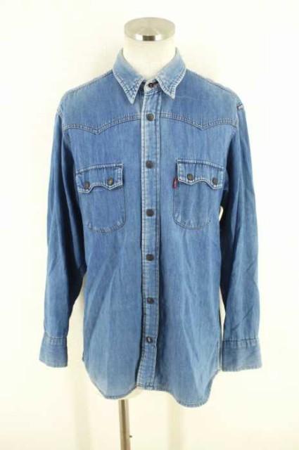 Levi's(リーバイス) Blue Shirts サイズ[M] メン...