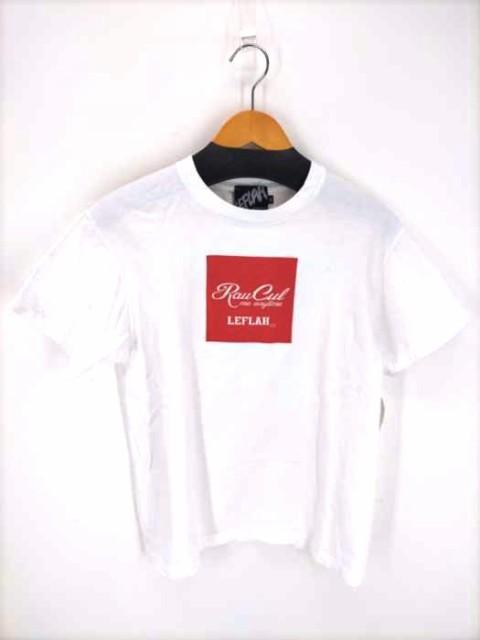 レフラー Leflah クルーネックTシャツ サイズ表記...