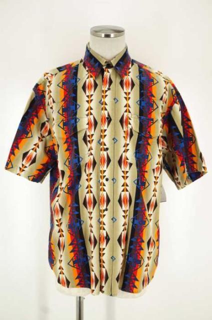 ラングラー Wrangler ウエスタンシャツ サイズL ...