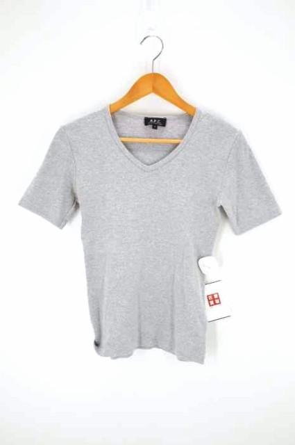アーペーセー A.P.C. VネックTシャツ サイズJPN:...