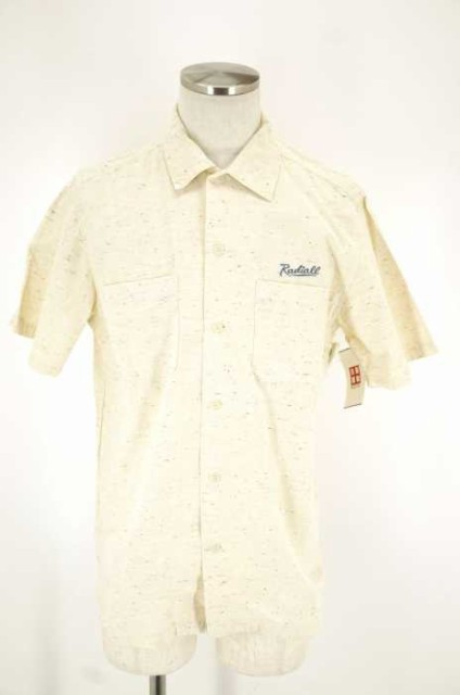 RADIALL(ラディアル) 胸刺繍半袖シャツ サイズ[L]...