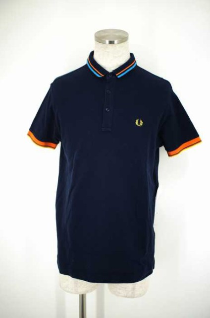 FRED PERRY(フレッドペリー) TIPPED PIQUE SHIRT ...