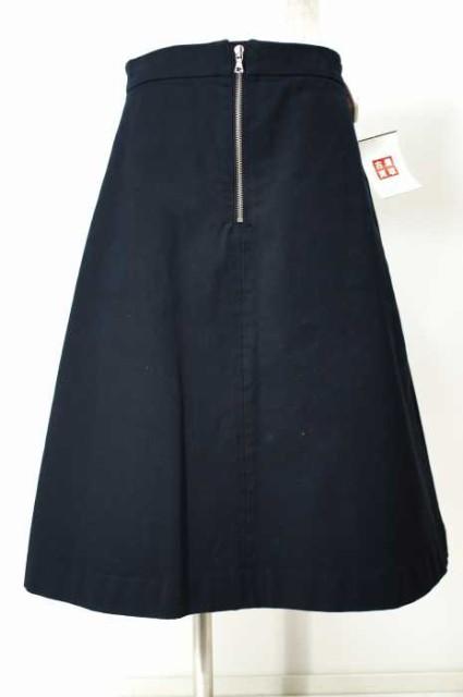 AURALEE (オーラリー) フロントジップスカート ...
