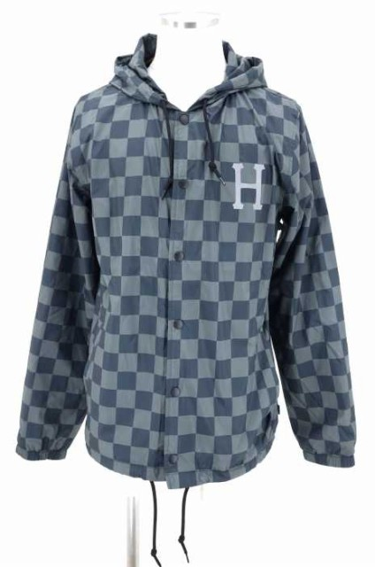 HUF(ハフ) BLACKOUT COACHES JACKET サイズ[M] メ...