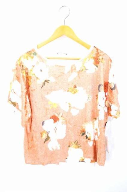 ザラ ZARA クルーネックTシャツ サイズimport:L ...