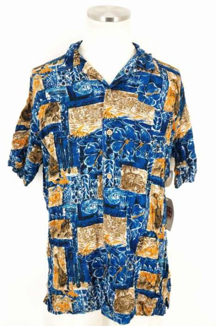 USED(ブランド不明) アロハシャツ サイズ[L] メン...