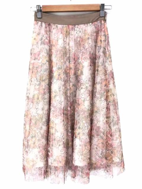 レッセパッセ LAISSE PASSE スカート サイズJPN:...