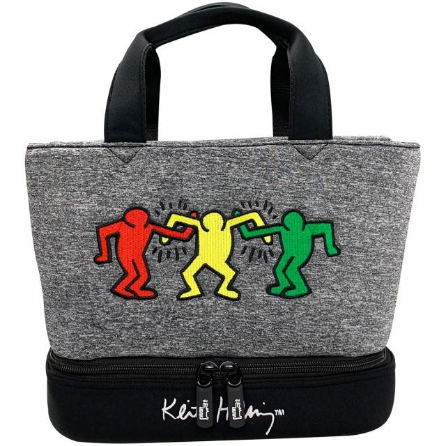 キース・ヘリング Keith Haring ラウンドバッグ...