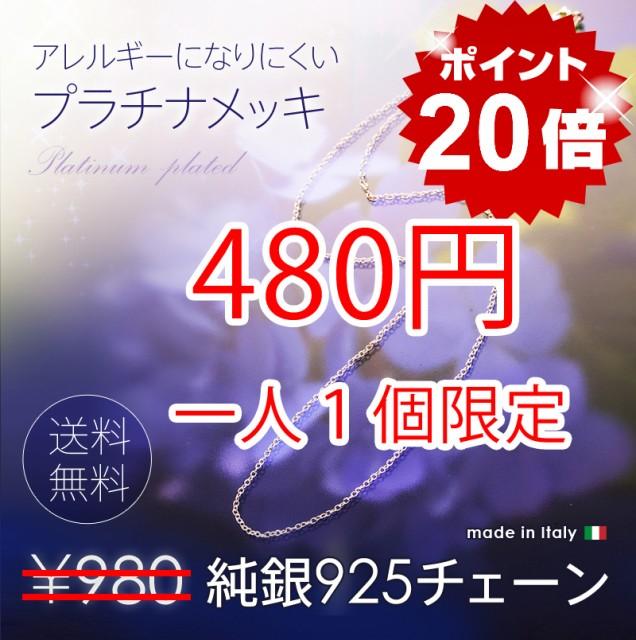 ■一人1個限定■【送料無料 480円】純銀925...
