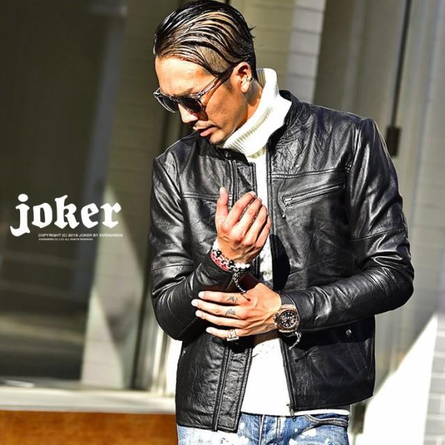 ◆送料無料◆ ライダースジャケット 本革 メンズ ...