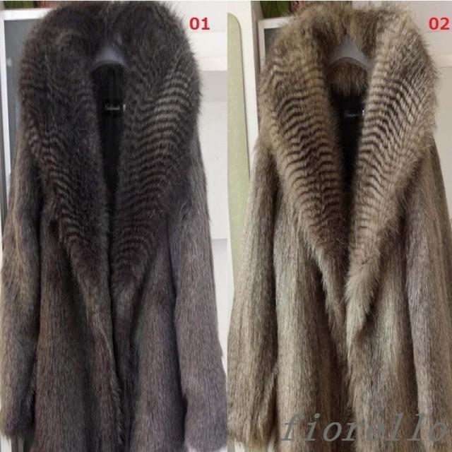 毛皮コート 人気 上質 上着 ジャケット ロングコ...