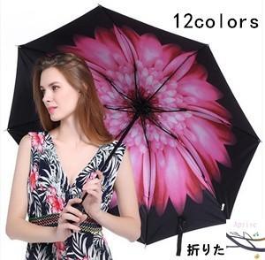 折りたたみ傘 晴雨兼用 男女兼用 UVカット 紫外線...