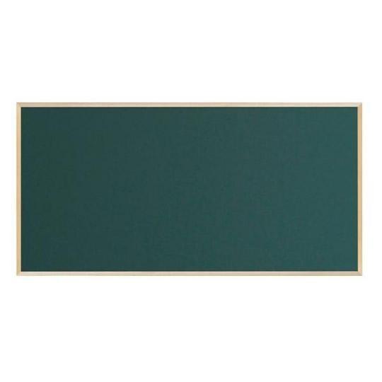 馬印 木枠ボード スチールグリーン黒板 1800×900...