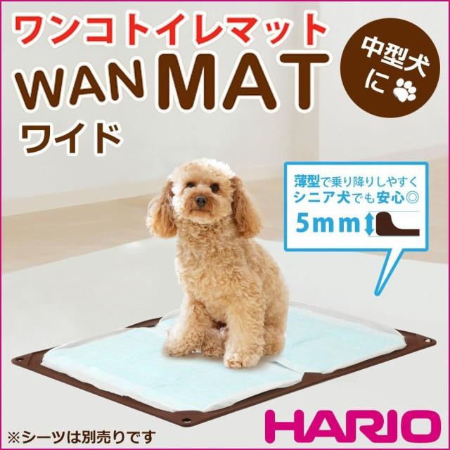 HARIO ハリオ ワンコトイレマット ワイド ショコ...