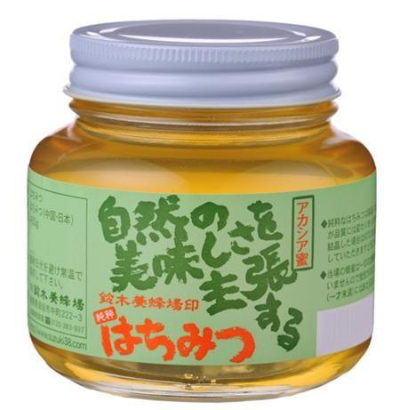 鈴木養蜂場 はちみつ アカシア(AK) 450g 2個...