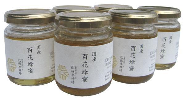 近藤養蜂場 国産百花蜂蜜 140g×6個セット 代...
